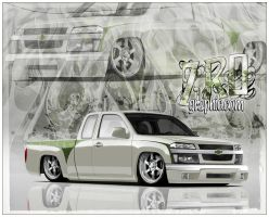 Chevy Colorado_new paint by ZeROgraphic