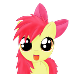bed mane applebloom by mypantsrcool