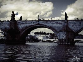 Charles Bridge by Elyv