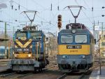 V46 and V43 locos in Budapest by morpheus880223