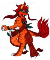 Its Bowser Dragon by diffy