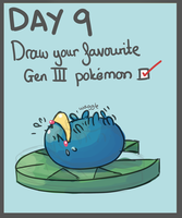 40 Day Pokemon Challenge: 9 by Sophalone