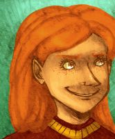 Quidditch Ginny by stehfuhknee