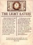 Official Announcement for The Light Eaters by Rosengeist