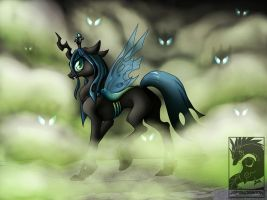 Queen Chrysalis by Japandragon