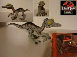 Jurassic Park Troodon Sculpture by Marshall-Arts-Comics