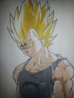Majin Vegeta by Earthquake2009