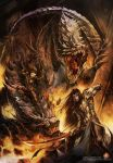 First Realm: Dragon's Sacrifice by Chaos-Draco