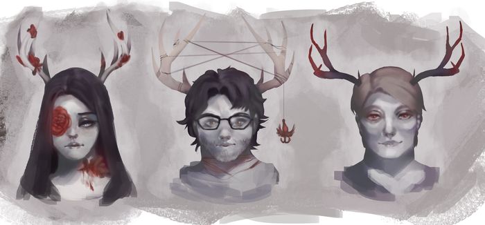 Hannibal Stag by Lady-Was-Taken