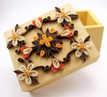 Quilled Box by DreamWarrior