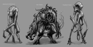 Creature design project 2 by mobius-9