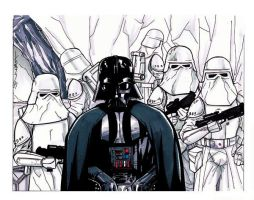 Vader on Hoth by Hodges-Art