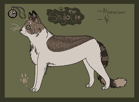 Shylo Reffsheet by Super-Chey