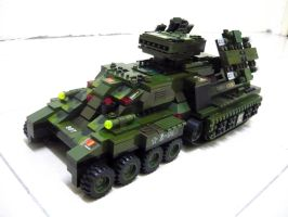 Lego Mirage Tank 'Mix' 1 by SOS101