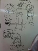 Dry Erase: Oodles by DynamiteManEXE