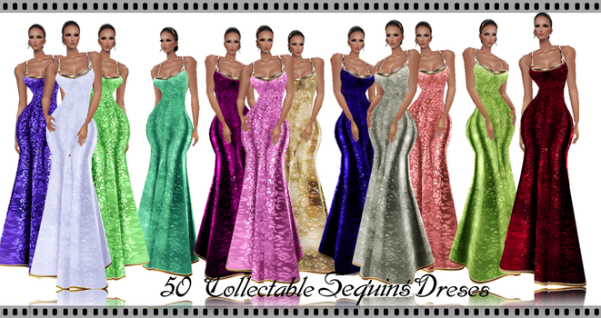 50 Collectable Abstrat Dresses by caryR