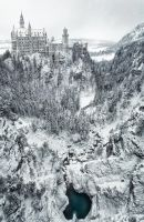 Neuschwanstein Winterland by Durdenyr