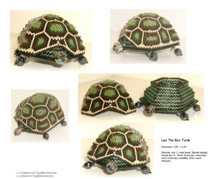 Leo The Box Turtle - SOLD by JustBelieveCreations