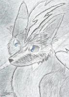 Silver Soul - Voltray [ACEO] by Foxie-The-Vulpix