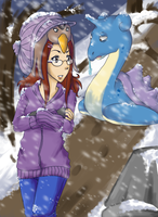 Challenging the Blizzard by Hikapi