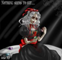 Nothing seems to fit by Gerid