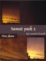 Sunset pack - 02 by LunaNYXstock