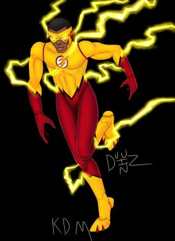 The New Kid Flash by Duuz-Diz-Din