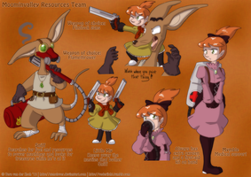 Steam Punk Moomins - Resource Team by Genolover