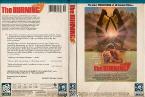 The Burning Retro DVD Jacket by TerrysEatsnDawgs