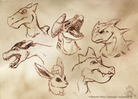 Doodling On The Job 1 -Pokemon by CanineHybrid