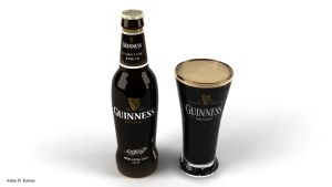 Guiness beer by Kadamx
