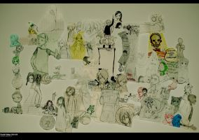 Doodle Collage 2010-2011 by rimirinchan