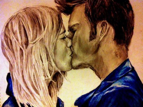 The Doctor And Rose by Eden-ArtFromTheHeart