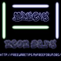 Gimp Brushes Neon Bars by mikethedj4