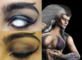 PATHETIC AND WEAK ~ Sindel Inspired by doodler95