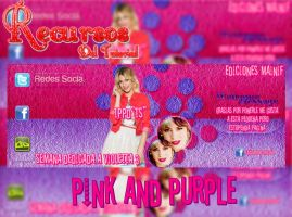 Pink Anda Purple by mainif