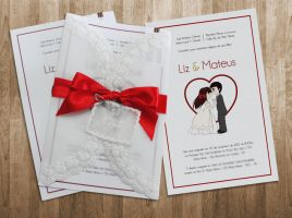 My Wedding invite by LizChimati