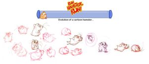 Run Hamster, Run - concepts 01 by basakward