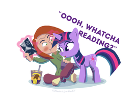 MLP - Ooh, whatcha reading? by Jon-Wood