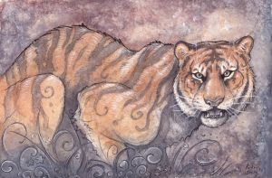 The Bengal Tiger by Kitsune-Seven