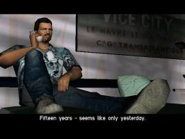Vercetti with Reaper Shirt by JBCFenix