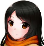 A girl with scarf by Zika-poi