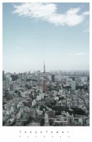 Tokyo Tower by Skybase