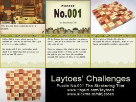 Laytoes' Puzzle 001 by ninjatoespapercraft
