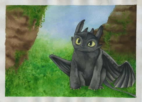 Toothless by Valeya