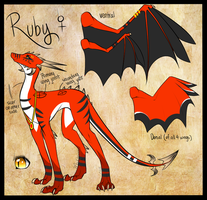 Redesign Ruby - Contest by Dragon-Wolf-Lover