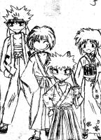kenshin's group by retARTed