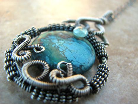 Mother Earth Necklace by smilingsoul