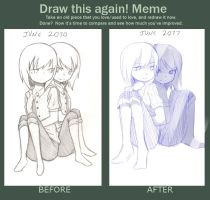 Before-after meme by JinxBiss