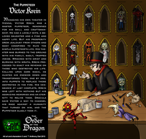 Order of the Dragon 08-The Puppeteer: Victor Krein by Gummibearboy